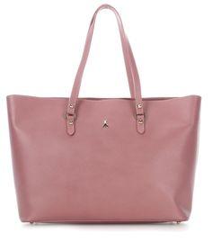 wardow.com - #PatriziaPepe, Shopper Leder lavendel 46 cm #bag #wardow #pastell #pastel #soft #colour