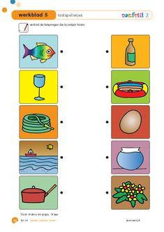 Thema water   werkblad   taalspelletjes   Thema vissen   Thema zee School Art Projects, Art School, Babysitting, Book Activities, Strand, Kids, Google, Crowns, Occupational Therapist