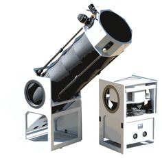 A folding TELEPORT brand Dobsonian Telescope. - #Dobsonian #Telescopes