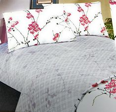 Royal opulence enchanted luxurious 100% reactive printed woven cotton sheet sets in fabulous fashion colors and design. These smooth cotton sheets add a luxurious touch to any bed. Wrap yourself in these 100% DaDa quality superior bed sheets that are truly worthy of a classy elegant suite. The... more details available at https://perfect-gifts.bestselleroutlets.com/gifts-for-holidays/home-kitchen/product-review-for-dada-bedding-fsfsk8318-4-piece-floral-cotton-sheet-set-king/