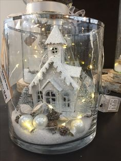 30 Affordable Christmas Table Decorations Ideas 2019 – Welcome My World Indoor Christmas Decorations, Christmas Lanterns, Christmas Jars, Christmas Centerpieces, Outdoor Christmas, Christmas Home, Tree Decorations, Christmas Holidays, Christmas Crafts