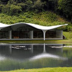 Municipal Funeral Hal in Kakamigahara Japan by Toyo Ito, this year's Pritzer Architecture Prize winner