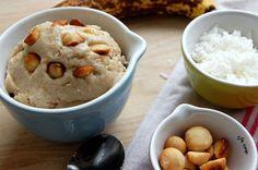 1. Banana, Coconut and Salted Macadamia Nut Ice Cream