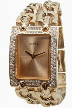 Orologio Guess donna idea regalo brillanti oro