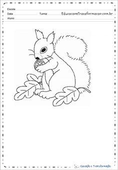 Desenho de animal para colorir e imprimir - Desenhos de animais Snoopy, Fictional Characters, Print Coloring Pages, Tame Animals, Small Animals, Predator, Gatos, Fantasy Characters