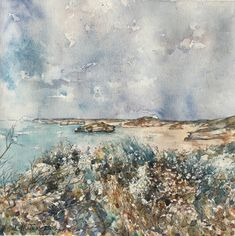 Watercolor John Ruskin, Bay Of Islands, Winslow Homer, Andrew Wyeth, Edward Hopper, Singer Sargent, Ocean, Watercolor, Painting