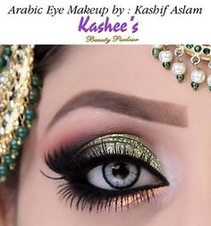 A Sneak Peak Of Our Dazzling Soft Arabic Eye Makeup In Mint images ideas from Beautiful Makeup Photos Soft Eye Makeup, Bridal Eye Makeup, Eye Makeup Steps, Hooded Eye Makeup, Beautiful Eye Makeup, Makeup For Green Eyes, Perfect Makeup, Smokey Eye Makeup, Beauty Makeup