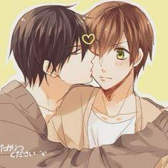 Takano and Ritsu♡