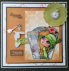 Moonstruck.. Stamps, dies and embossing folder from moonstruck kit, spectrum Noir Aqua markers, cd rom papers