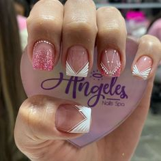 Fancy Nails, Love Nails, Luxury Nails, Holographic Nails, Cute Nail Designs, Manicure And Pedicure, You Nailed It, Beauty, Calm