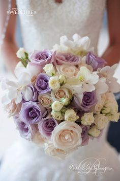 Lilac Wedding Bouquet ~ Floral Design: Rachel A Clingen