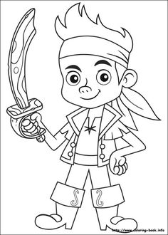 Jake and the Never Land Pirates coloring picture