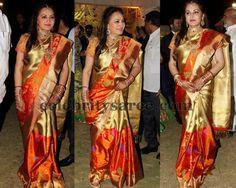 Jayapradha at Her Son Wedding