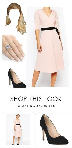 """""""Engagement Announcement"""" by crownprincessmia on Polyvore featuring TFNC and L.K.Bennett"""