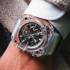 Tourbillon not cool enough? How about BR-X1 Tourbillon Sapphire by Bell&Ross!