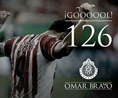 #OmarBravo #GrandeÍdolo #Chivas #126goles