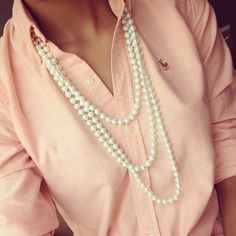 Pretty in pink, perfect in pearls, everyone loves a sweet southern girl!