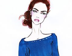 """Check out new work on my @Behance portfolio: """"Fashion sketch"""" http://be.net/gallery/38391607/Fashion-sketch"""