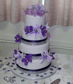 I learned...Sister's Wedding cake project on Craftsy.com