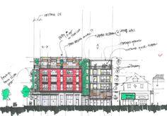 Multi-Family Housing work | sketching