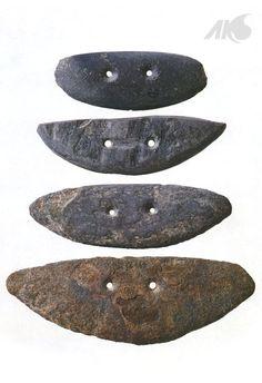 [Prehistory-Neolithic Age] Semi-lunar stone knife
