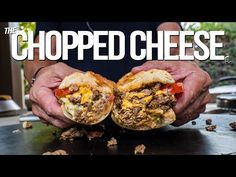 A CHOPPED CHEESE (BETTER THAN A PHILLY CHEESESTEAK?) | SAM THE COOKING GUY 4K - YouTube Chopped Cheese, Philly Cheese Steak Sandwich, Flat Top Grill, New Cooking, Cooking Ideas, Man Food, Soup And Sandwich, Wrap Sandwiches, Cheesesteak