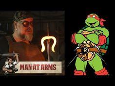 Building Raphael's Sais (Teenage Mutant Ninja Turtles) - #MANATARMS