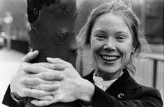 Sissy Spacek, the young American actress is pictured posing for the camera with her hands clasped around a tree. Get premium, high resolution news photos at Getty Images Sissy Spacek, Fantastic Show, Young Americans, Pose For The Camera, Bold And The Beautiful, Mary Elizabeth, She Likes, Rio Grande, Picture Poses