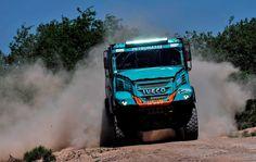 Rally Dakar 2017: Três camiões Iveco no top-10 da 11ª Etapa
