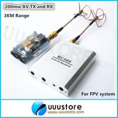 RC-FPV-5-8Ghz-200mw-AV-Transmitter-TS351-and-Receiver-with-clover-antenna