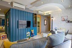 Este alegre apartamento fica em Singapura e foi claramente inspirado em pop art e arte das ruas. Criado pelo pessoal da KNQ Associates para uma jovem solte