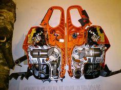 Chainsaw cutaway.