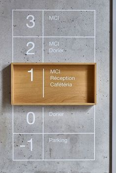 signage Gallery of MCI Headquarters Office Design / Bloomint Design - 2 Buying A Luxury Watch Seven Environmental Graphic Design, Environmental Graphics, Corporate Office Design, Office Interior Design, Office Designs, Interior Modern, Kitchen Interior, Business Icons, Hall Hotel
