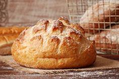 Gluteeniton ja kuohkea leipä on nopea valmistaa