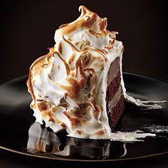 Baked Alaskas Recipe | MyRecipes.com
