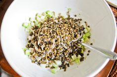 Salade de lentilles et chou-rave Recette sur Chocolate & Zucchini en VF