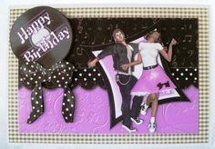 Pink Rock N Roll Birthday