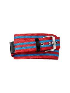 Double Striped Webbing Belt