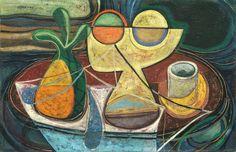 Cuban Art Mario Carreño Mario, Visit Chile, Cuban Art, Mediterranean Architecture, Cuba Travel, Mid Century Modern Design, Cubism, Mid-century Modern, Artist