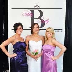 Regal Photo Booth Backdrop for Receptions