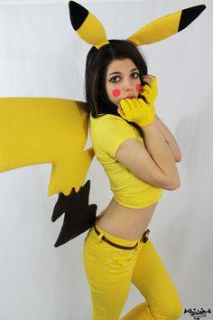 Love her! Such a fun Pikachu cosplay! - 8 Pikachu Cosplays