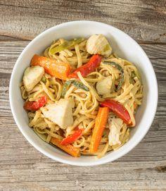 One Pot Wonder Chicken Lo Mein | The Wholesome Dish