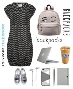 """""""All eyes are on you."""" by im-karla-with-a-k ❤ liked on Polyvore featuring Speck, Master & Dynamic, Casetify, Parker, Undercover, Chiara Ferragni, backpacks, contestentry and PVStyleInsiderContest"""