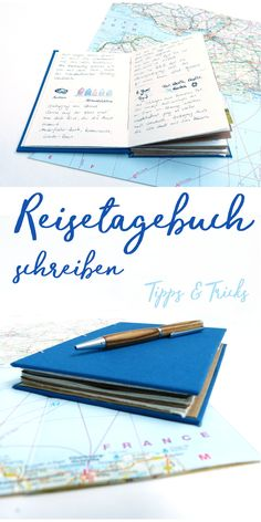 Reisetagebuch Collage