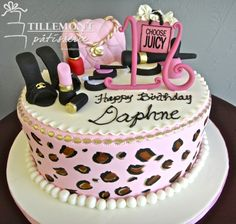 Juicy Couture Accessories Sweet 16 Cakes | Patisserie Tillemont | Montreal
