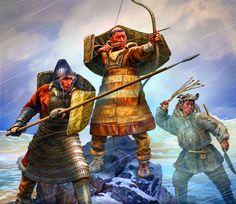 warriors of Syberia