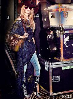 News - Taylor Swift para Vogue US - Salada de Croqui