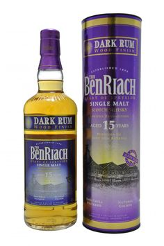 Benriach 15 Year Old | Dark Rum Wood Finish