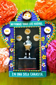 Mexican devotional art: the nicho.©Mexico Import Arts