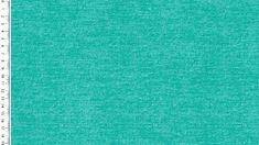 0,50m Jersey Digital Jeans Baumwolll-Jersey-Stoff uni minz Öko-Tex Standard 100 - Meterware EU Stoffe